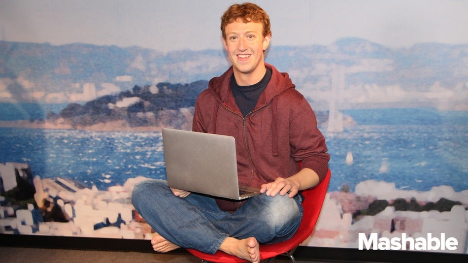 Look At Zuck's New Madame Tussauds Waxwork