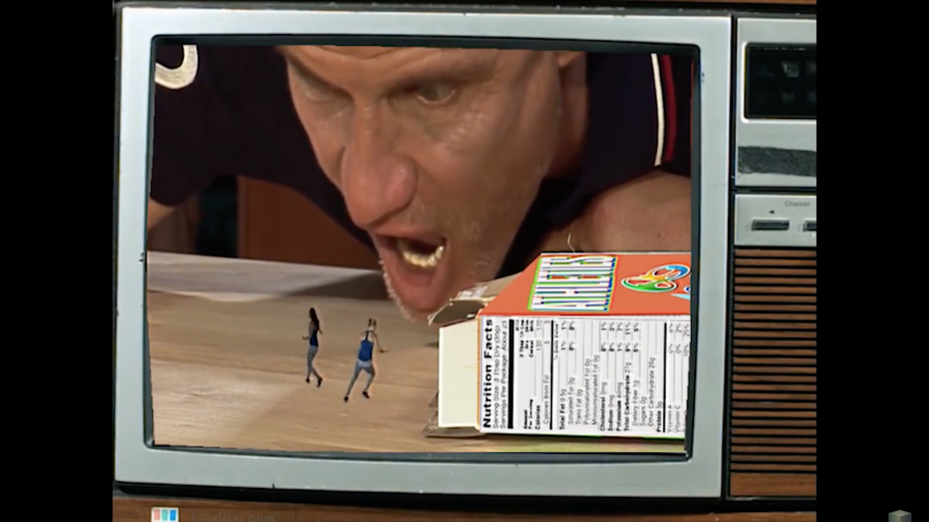 Drago From Rocky IV Eats Olympic Pentathlon Sisters For Breakfast