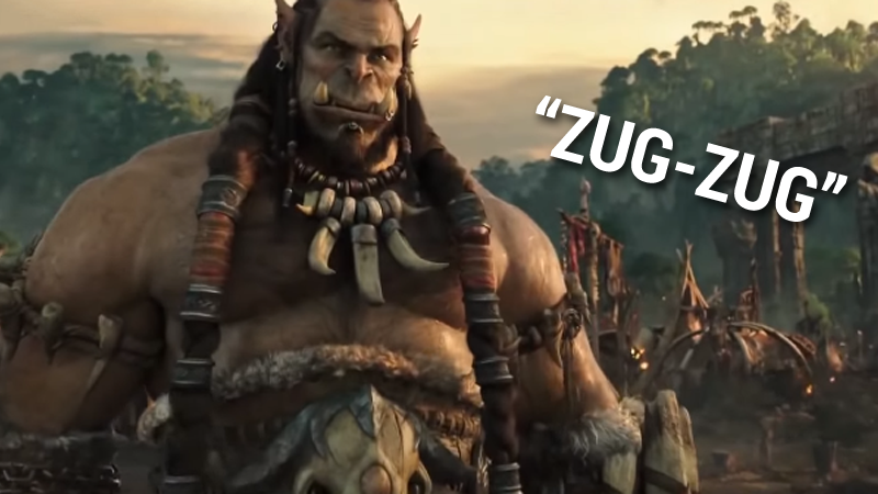 The WarCraft Movie Trailer Is Much Better With WarCraft II Sound Effects