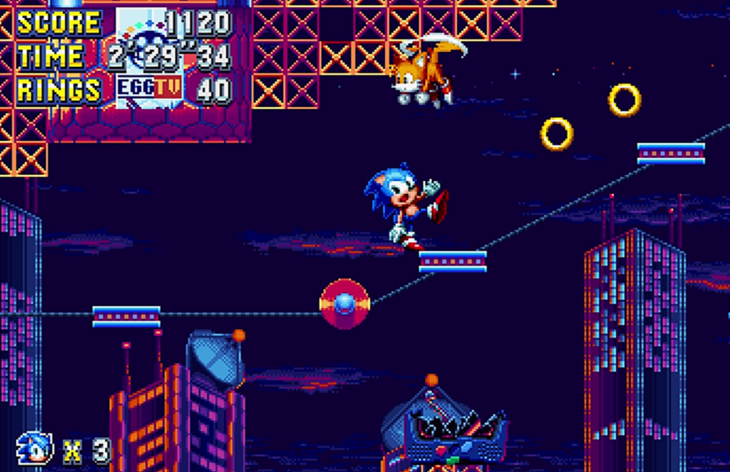 Hedgehog! Sonic Mania Is Now Playable on Xbox One