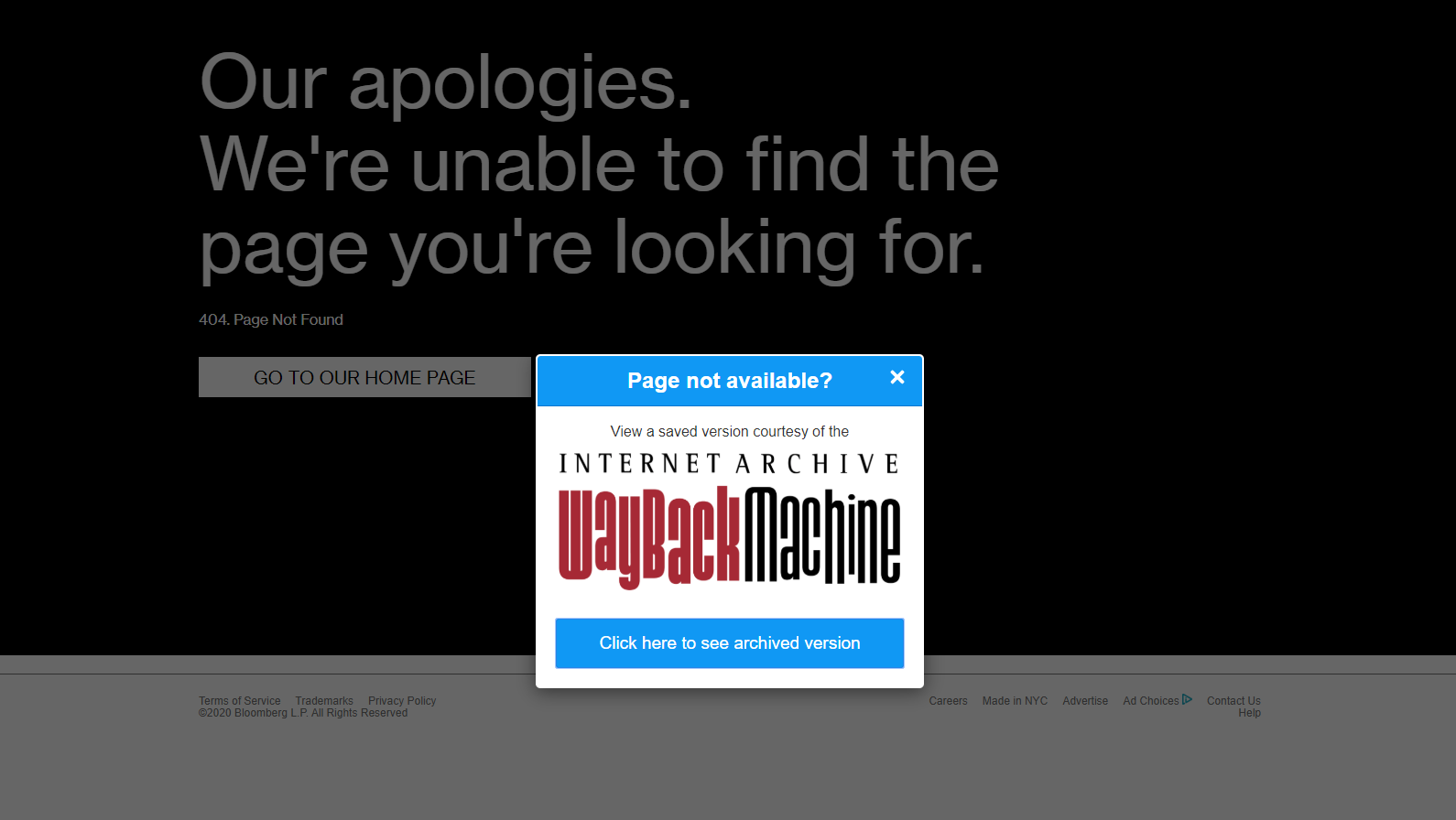 Find Lost Websites With Wayback Machine's Browser Extension