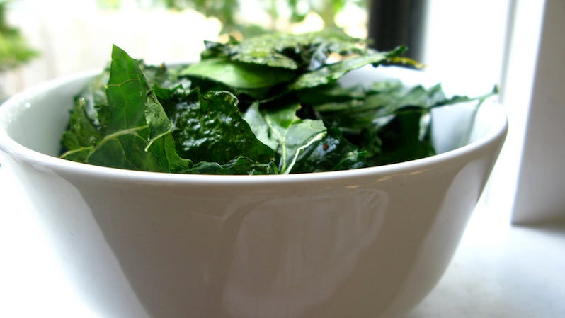 Marinate Tough Greens In Oil (And Use It For Dressing) For Tastier Salads