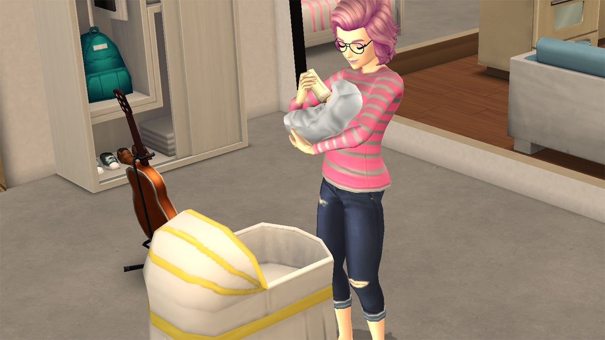 The Sims Mobile Is A Great Place To Raise A Family