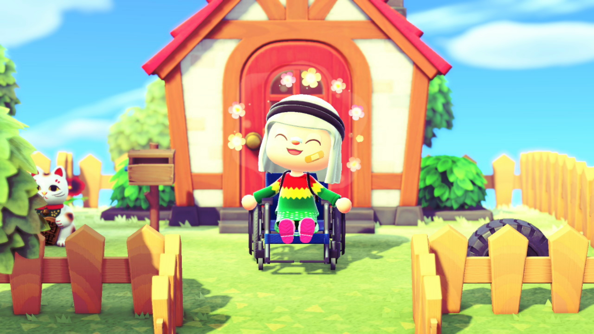 I'm So Happy There's A Wheelchair In Animal Crossing: New Horizons