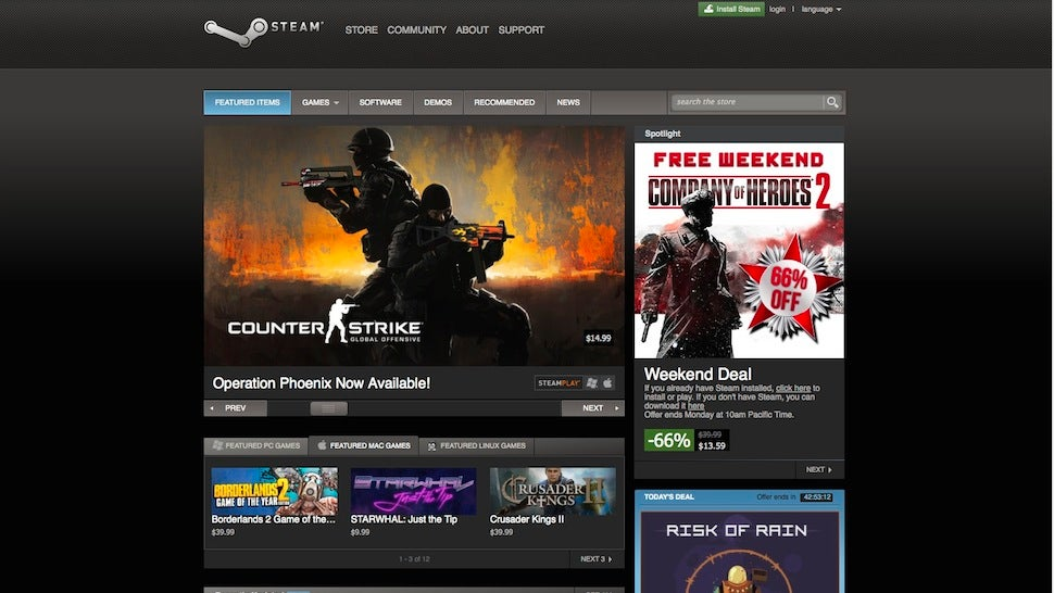 Five Best Online Stores For PC Games