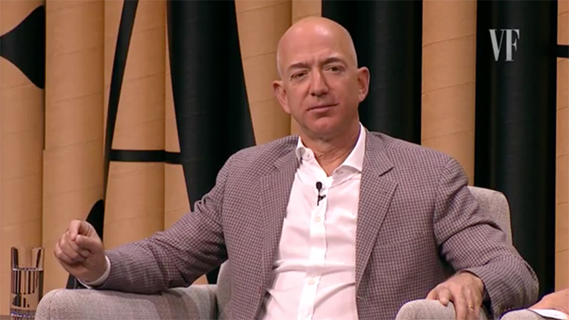 Jeff Bezos Still Wants to Send Trump to Space