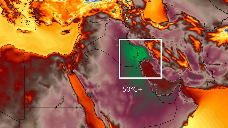 The Single Day Heat Record For The Eastern Hemisphere Has Just Been Shattered
