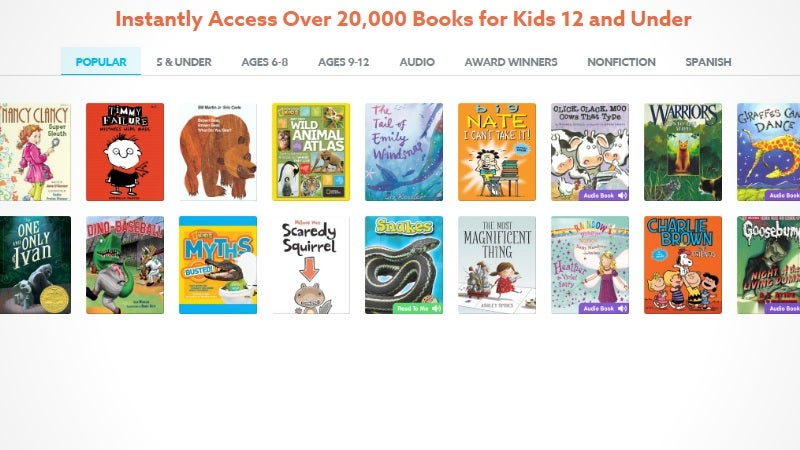 New App Gives Kids Unlimited Access To A Massive Library Of Children's Books