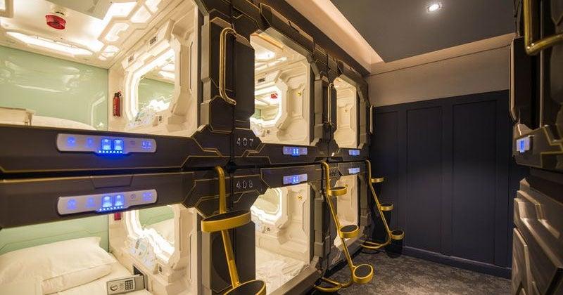 The Coolest Looking Capsule Hotels Outside Japan Kotaku