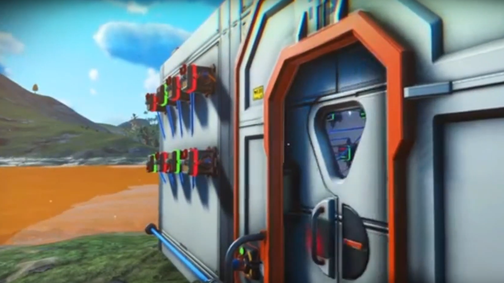 No Man's Sky Player Builds Combination Lock