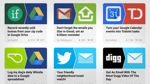 IFTTT for Android Gets New Look, a Bunch More Channels
