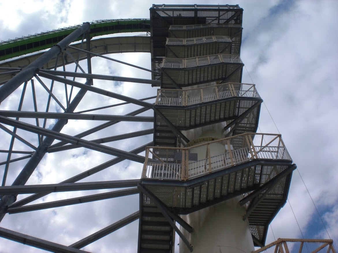 How Not to Die On the World's Tallest Waterslide (By Someone Who Lived)