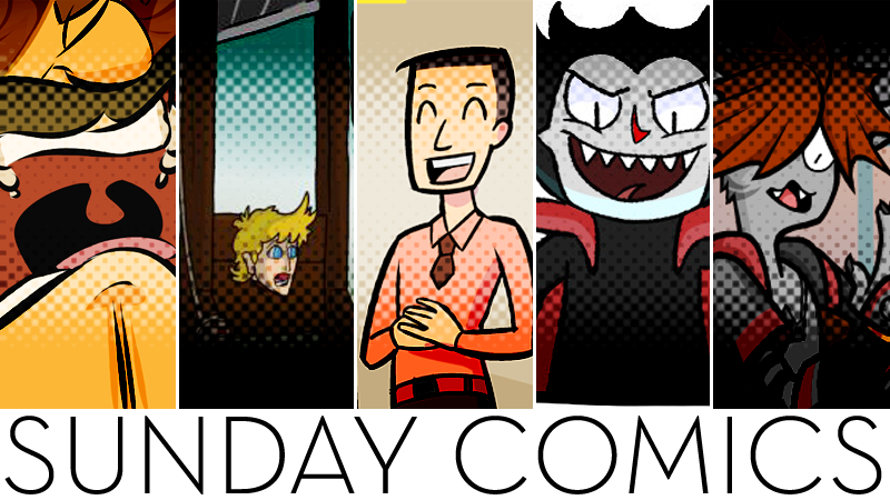 Sunday Comics: Turn Off That Game!