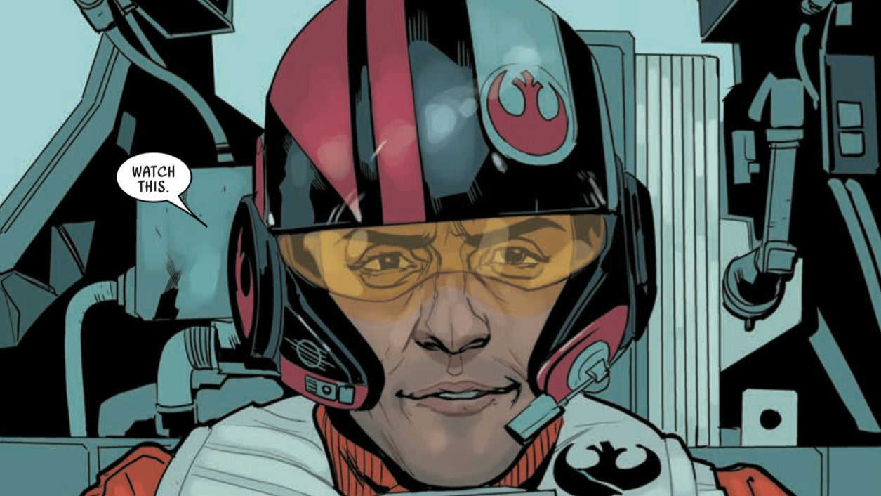 This Week's New Poe Dameron Comic Expands The Star Wars Universe