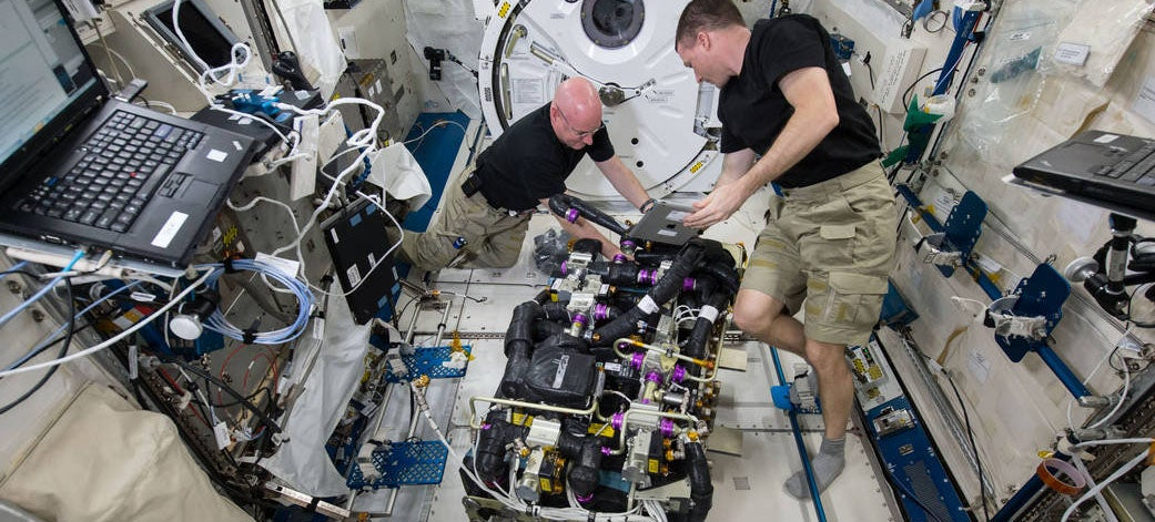 Being an Astronaut Looks Like Complicated Work