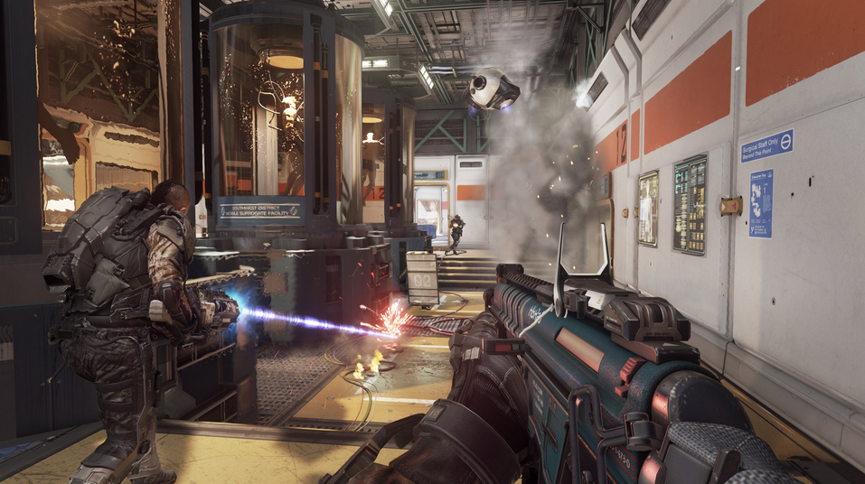 Watch Call of Duty: Advanced Warfare's Multiplayer Right Here