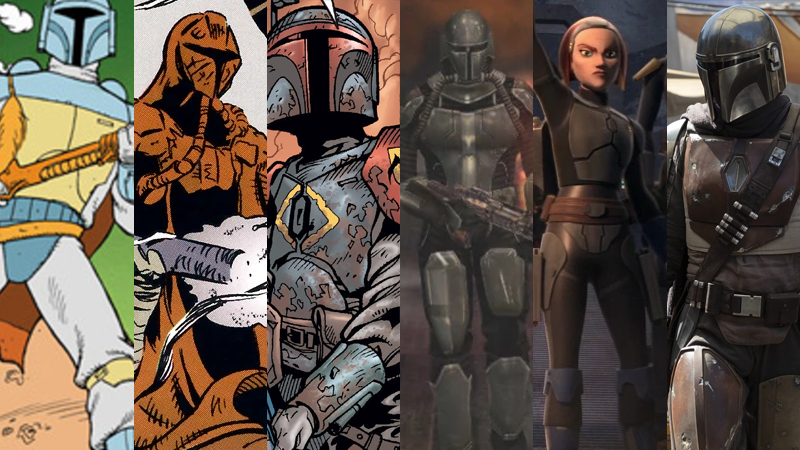 A Brief Guide To The Long, Ever-Changing History Of How Star WarsHas Portrayed Mandalorians