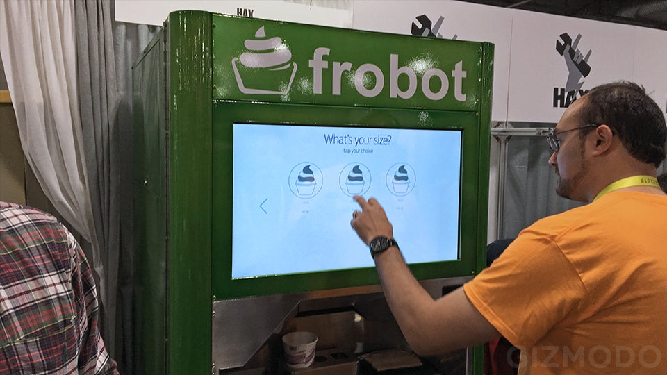 We Need To Be Inventing More Robots That Serve Humans Delicious Frozen Yogurt