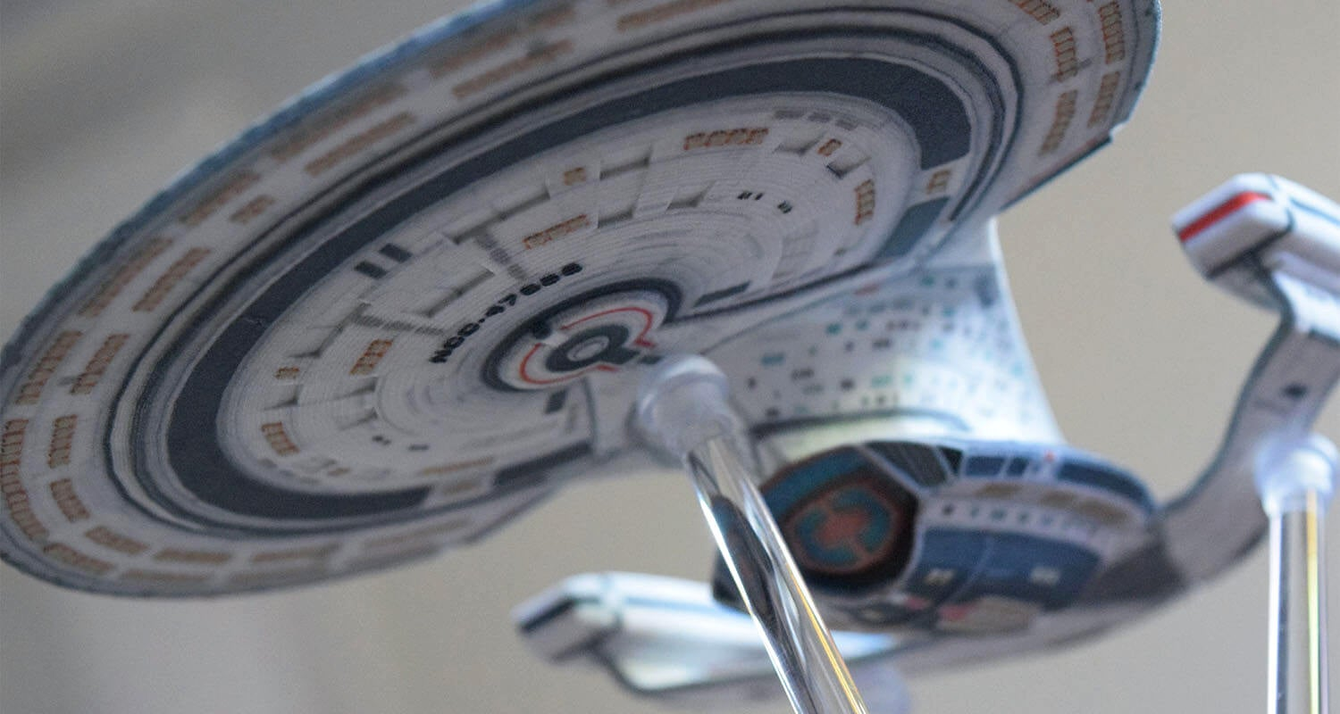 Build Your Own Starfleet With These Customised 3D-Printed Star Trek Ships
