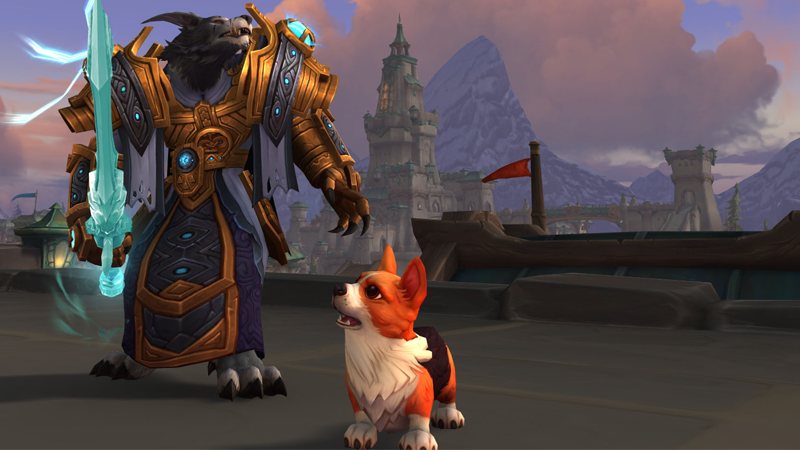 To 15 Years Of World Of Warcraft, And All The Pups I've Loved Before