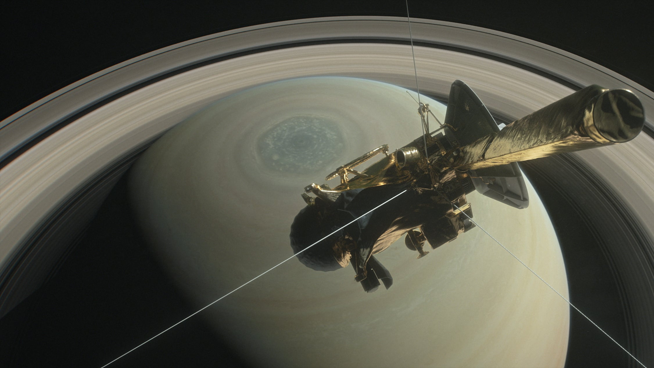 Cassini's 'Inside Out' Video From Within Saturn's Rings Will Make You Emotional