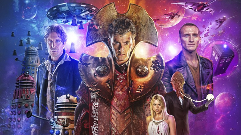Doctor Who Puts David Tennant, Paul McGann, And Christopher Eccleston In A New Kind Of Time War