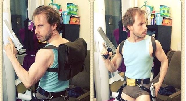 Lara Croft? More Like Larry Croft.