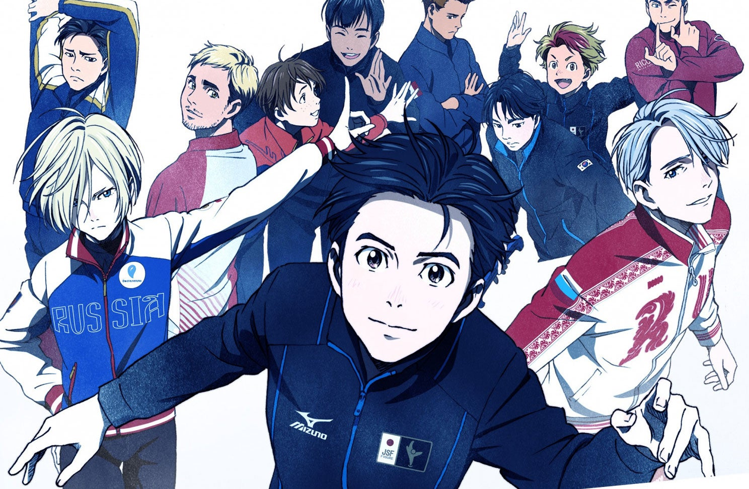 Japanese Skaters Performed Yuri On Ice At The Winter Olympics