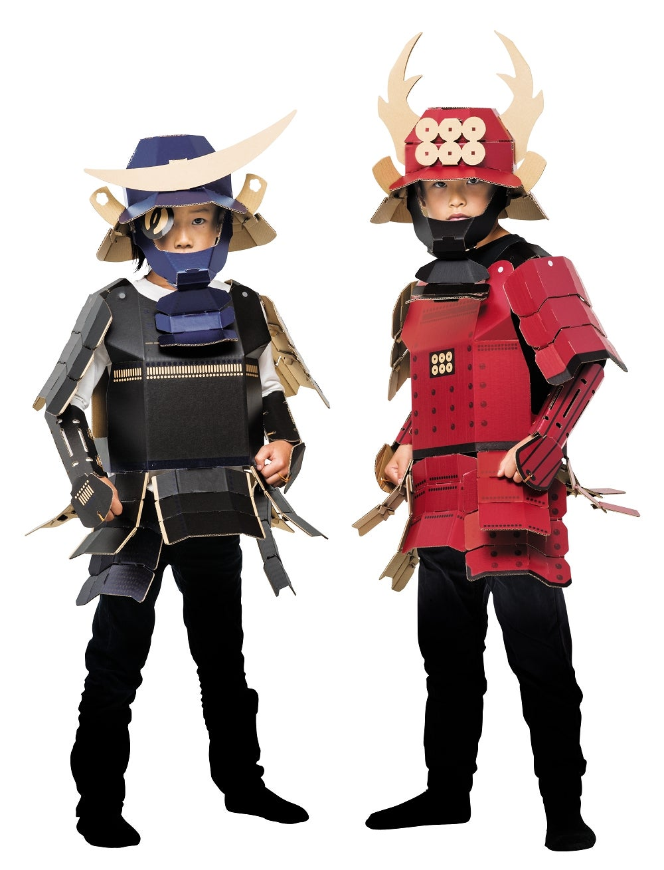 Cardboard Samurai Armour, Now for Adults