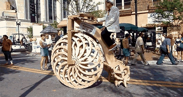 This Giant Rolling, Walking Bike Can Probably Tackle Any Terrain