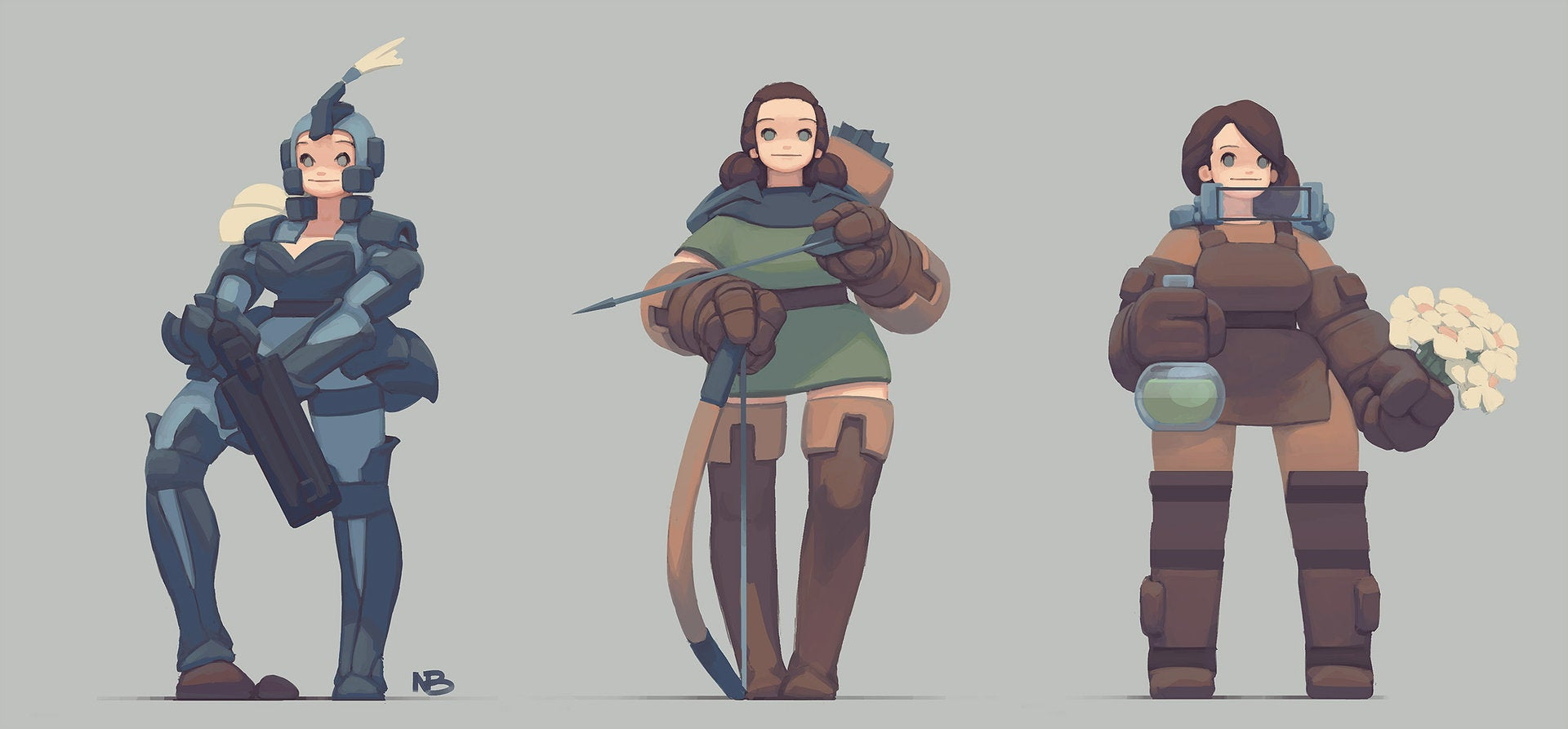 Fine Art: Choose Your RPG Class Wisely…