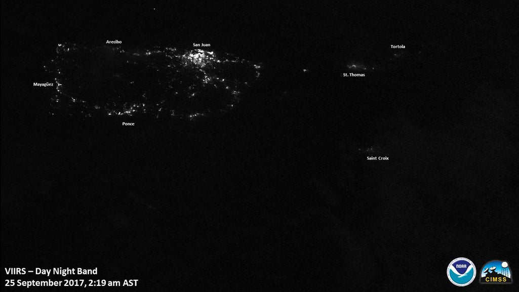 Puerto Rico Remains Mostly In The Dark And Badly In Need Of Aid