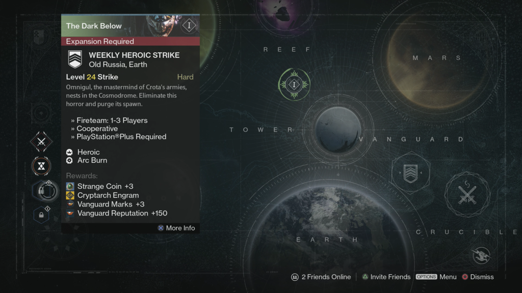 Destiny's Weekly Strike Is Now Locked Behind DLC