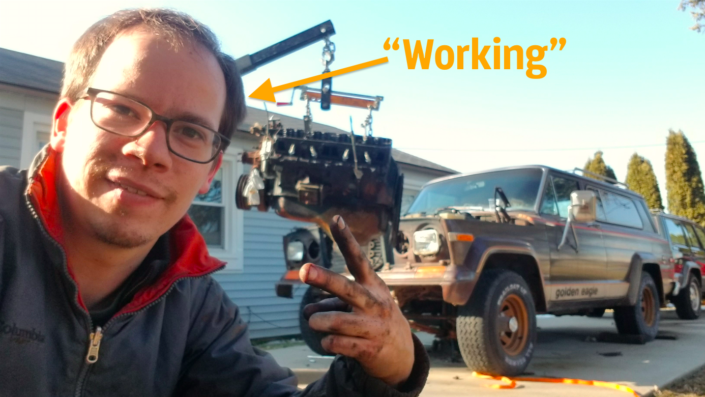 How To Pretend You're Working From Home When You're Really Just Wrenching On Your Car