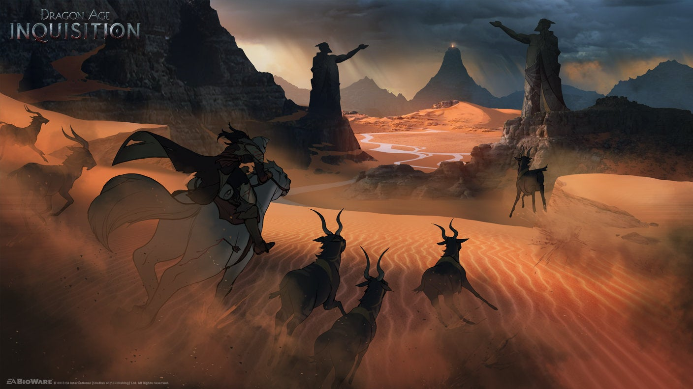 Dragon Age's Concept Art Is Fantastic