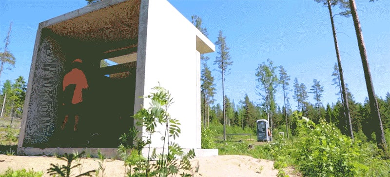 Watch a Crazy Swede Blow Up Porta-Potty With Dynamite