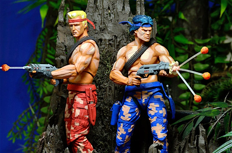 The Konami Code Won't Make These Contra Figures Arrive Any Sooner