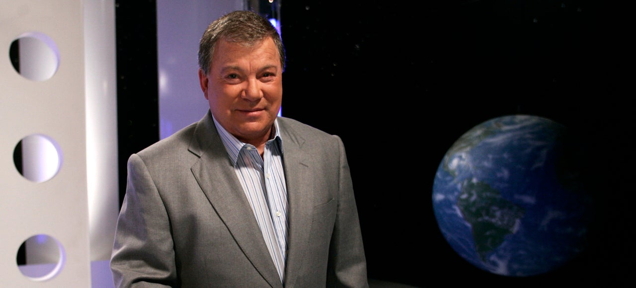 William Shatner: 'To Vomit In Space Is Not My Idea Of A Good Time'