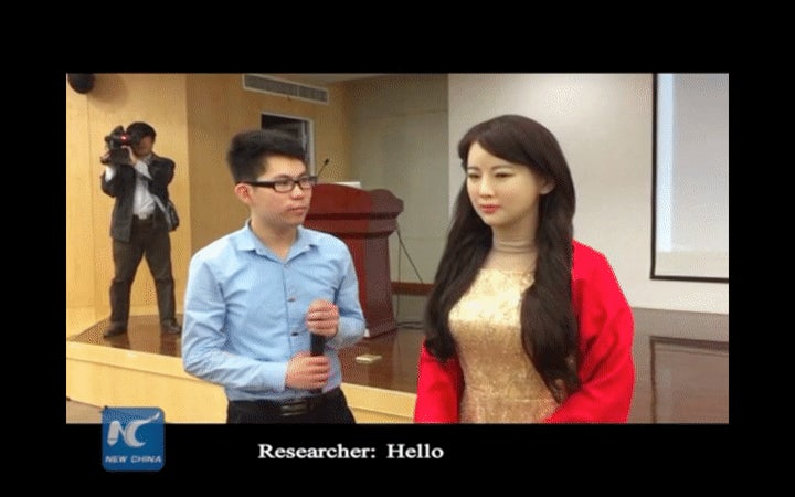 China's First Ultra Realistic Robot Is Also Ultra Bad for Women