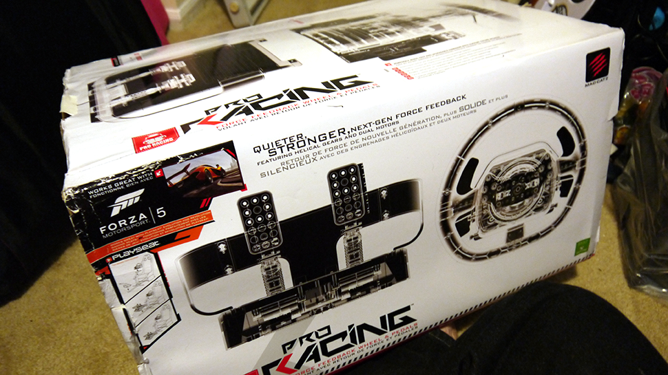Time To Crack Open The Mad Catz Xbox One Racing Wheel