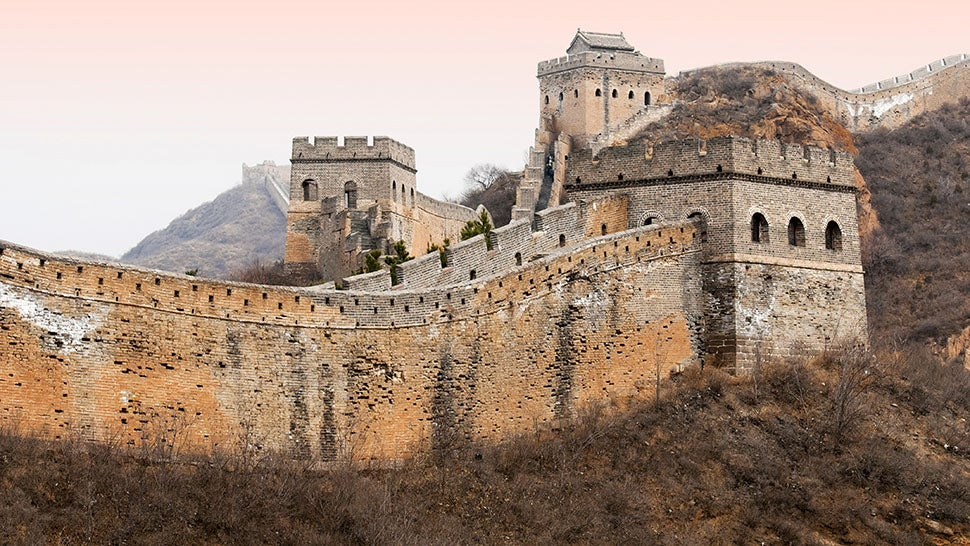 China's Designating Graffiti-Friendly Sections of the Great Wall
