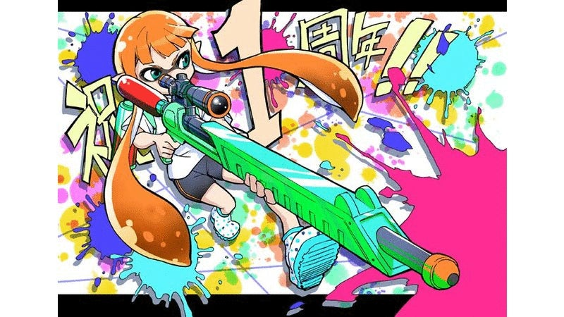 Japan Celebrates Splatoon's Anniversary with Fan Art
