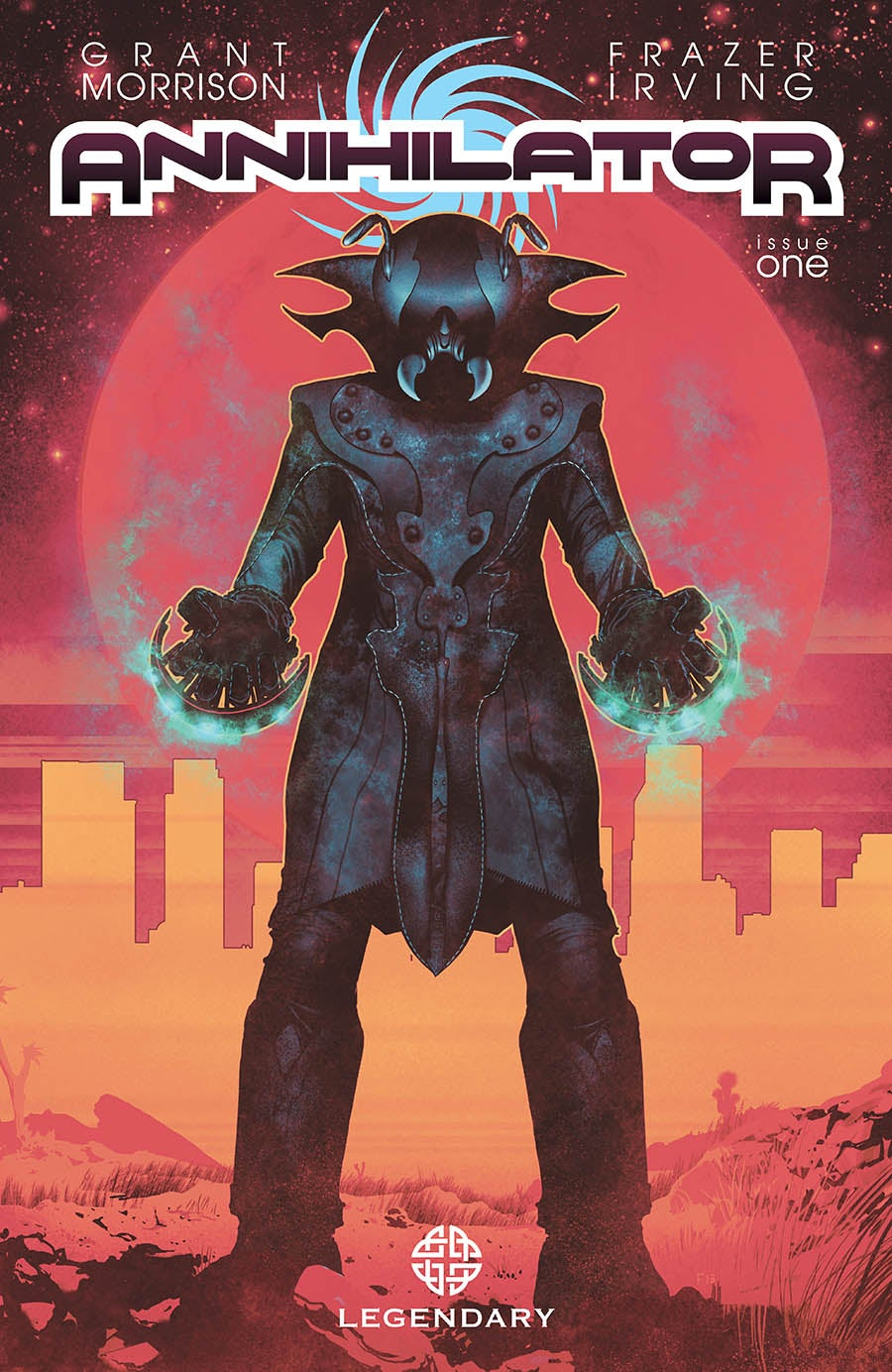 Grant Morrison's New Sci-Fi Comic Is About How F***ed-Up Hollywood Is