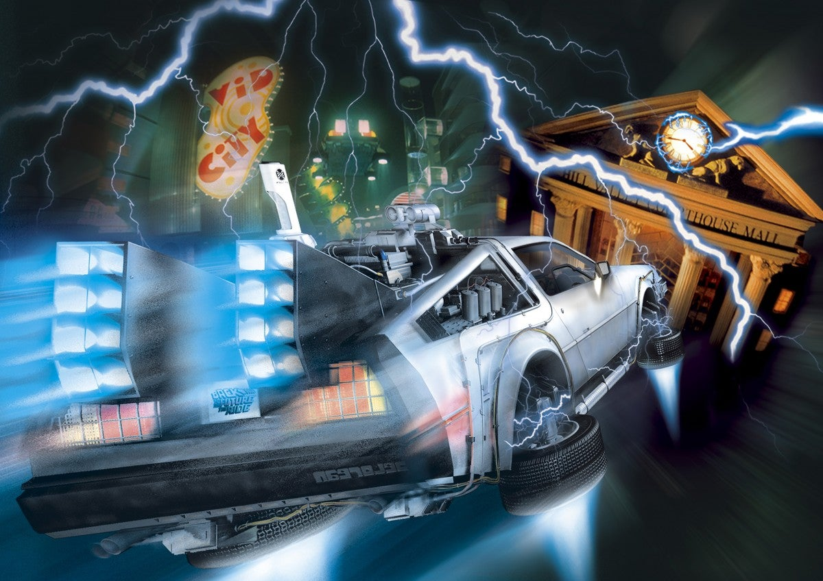 The Back to the Future Ride Is Officially Dead