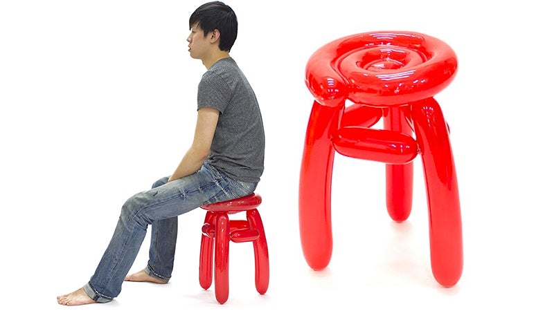 You Can Totally Sit On This Balloon Animal Furniture