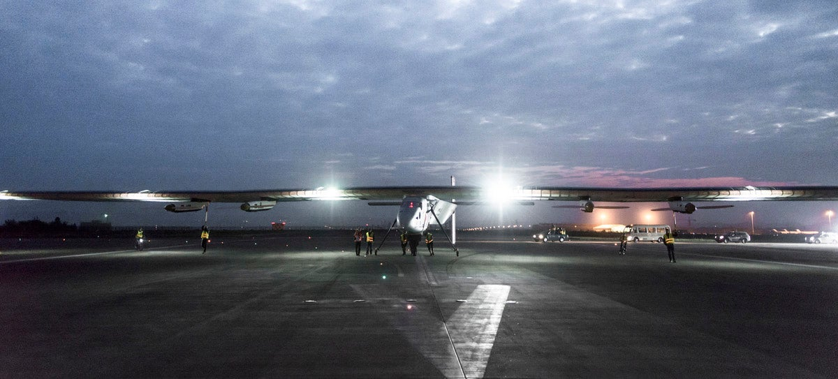 Solar Impulse Safely Lands in East China -- But the Hardest Leg's to Come