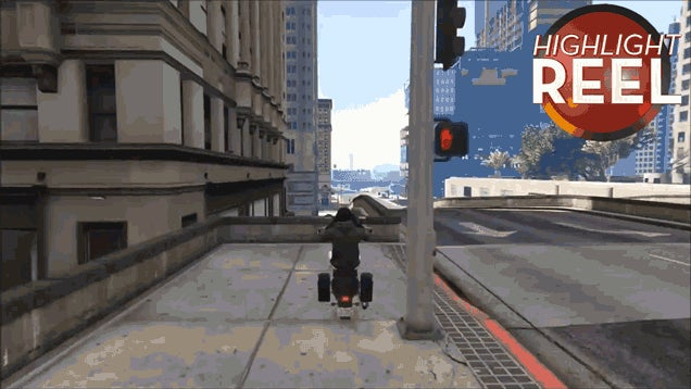 GTA Motorcycle Tricks That Are Smooth As Silk