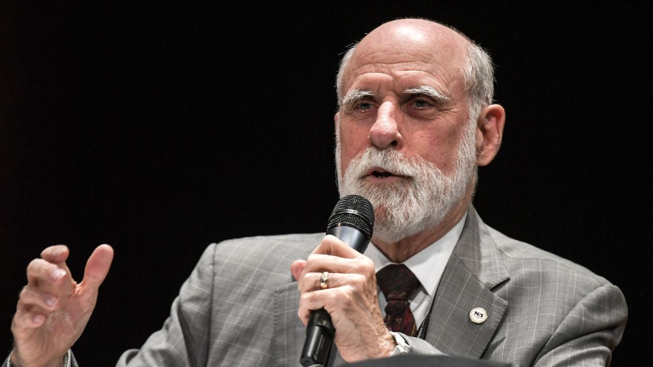 Internet Pioneer Vint Cerf Tests Positive For Covid-19