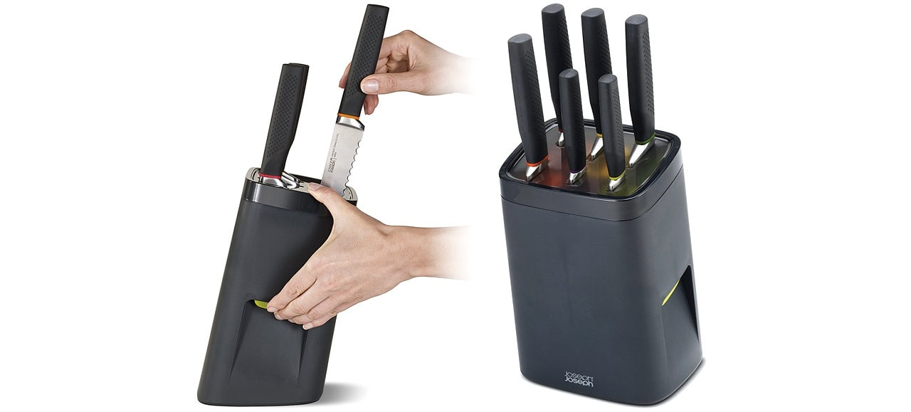 A Locking Knife Block Keeps Your Blades Inaccessible To Kids