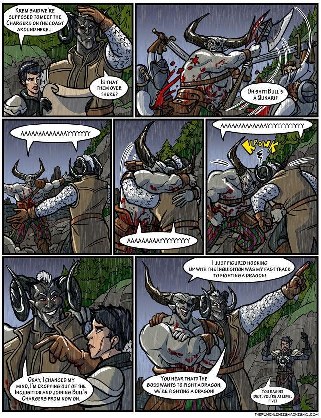 Sunday Comics: We're Fighting A Dragon